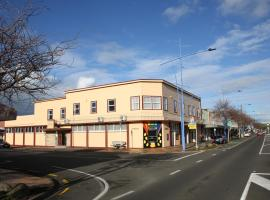 Hotel near  New Plymouth  airport:  Masonic Hotel
