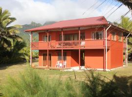Hotel photo: Matangi Moana Beachside Villa