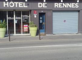 Hotel photo: Hotel De Rennes Le Mans