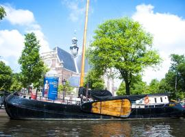 Boat Rosa Short Stay Amsterdam Netherlands
