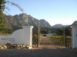 Auberge La Dauphine Guest House Franschhoek South Africa