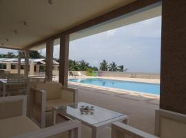 Hotel near  Freetown Lungi  airport:  The Hub Hotel