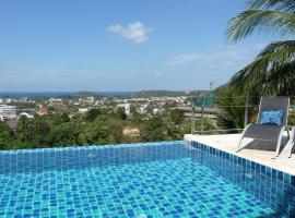 Villa Ginborn 5 bedroom Pool Villa with Sea View Kata Beach Thailand