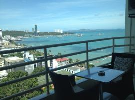 Hotel Photo: View Talay 6 Pattaya Beach Condominium by Honey