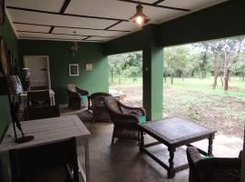 Hotel near  Lusaka Intl  airport:  Sarek Creek B&B