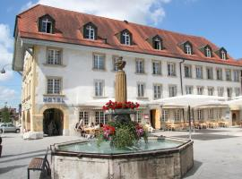 La Couronne Avenches Switzerland