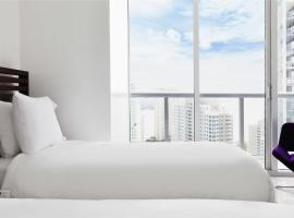 Sky City Apartments at Brickell Bay 마이애미 미국