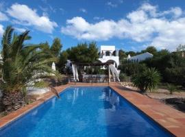 Villa in Cala Codolar II Cala Tarida Spain