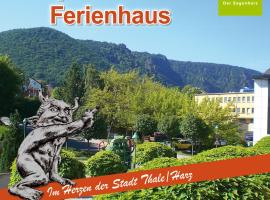 Apartments & Ferienhaus Senftner Thale Germany