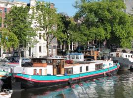 A358 Amstel - B&B on a Houseboat Amsterdam Netherlands