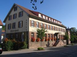 Klosterpost Maulbronn Germany