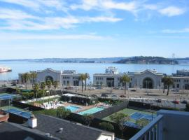 Studio with full amenities in building San Francisco USA