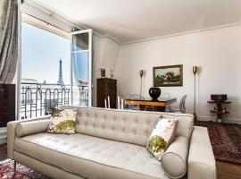 Squarebreak - Apartment with view of the Eiffel Tower Paris France