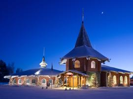 Santa Claus Holiday Village Rovaniemi Finsko
