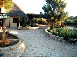 Hotel near East London airport : Shabanga Guest Farm