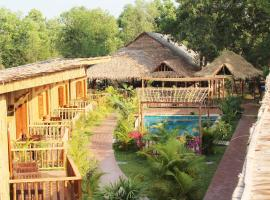 Hotel near  Sihanoukville  airport:  Chez Paou River Side