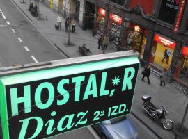 Hostal Diaz Madrid Spanien
