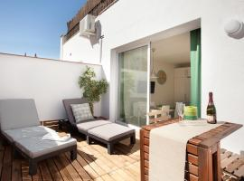Centric Apartment National Palace AT2 Barcelona Spain