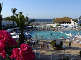 Hotel near  Habib Bourguiba Intl  airport:  Village Vacances El Shems Monastir