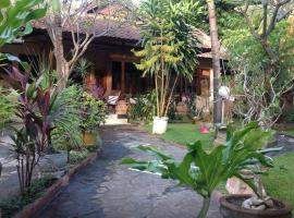 House of Vera and Beautiful Garden Lovina Indonesia