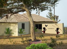 Hotel near Banjul: Kayira Beach Resort, Jinack Island, The Gambia