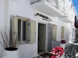 Fresh Boutique Hotel Mýkonos City Řecko