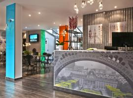 Hotel Alpha Paris Tour Eiffel by Patrick Hayat Boulogne-Billancourt France