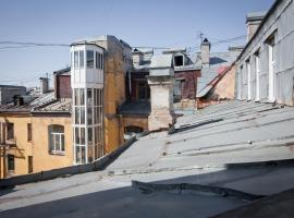 Apartment Roof Saint Petersburg Russia