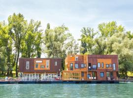 ArkaBarka Floating Hostel Belgrade Serbia