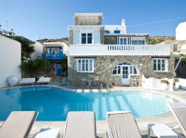 Voula Apartments & Rooms Agios Ioannis Mykonos Greece