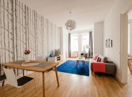 Design Apartment in der Leipziger Südvorstadt ライプツィヒ ドイツ