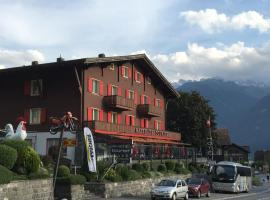 Hotel Tourist Fluelen Switzerland