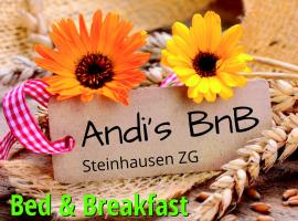 Andi's BnB Steinhausen Switzerland