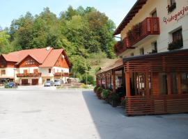 A picture of the hotel: Pri Vidrgarju