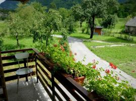 Holiday Home Over The River Bovec Slovenia