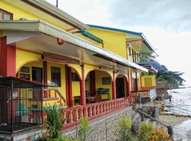 Captain Hook's Red Parrot Inn Samal Filipines
