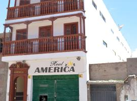 A picture of the hotel: Real América Hotel