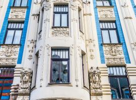 Art Nouveau Building Apartment Rīga Latvia