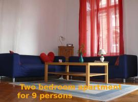 Private flat with 2 bedrooms Budapest Hungary
