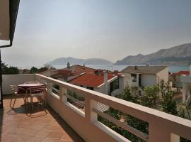 Apartment Gruh 7M Baška Croatia
