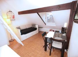 Lovely Marais Sudio with Mezzanine (94) Paris France