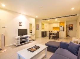 Lovely Apartment by The Sea at Mykonos Hua Hin Thailand