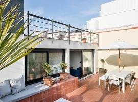 Friendly Rentals Jasmine Terrace Barcelona Spain