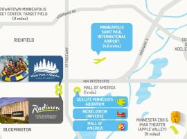 Radisson Hotel Bloomington by the Mall of America Bloomington USA