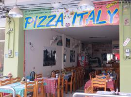 Pizza Italy Restaurant and Guesthouse Pattaya Central Thailand