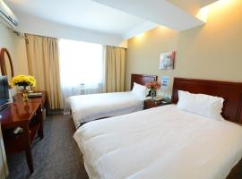 A picture of the hotel: GreenTree Inn Yancheng Dongtai Anfeng Town Ankang Road Shell Hotel