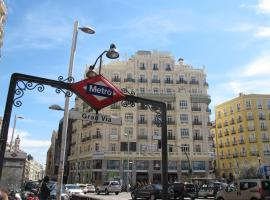 Gran Via Sol Montera Madrid Spain
