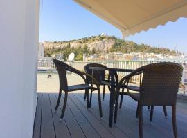 Acropolis view apartment Athens Greece