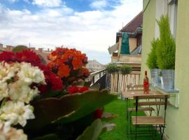 Downtown Apartment with View Budapest Hungary
