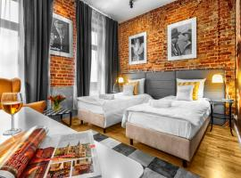 Hotel photo: Cinema Rooms - Piotrkowska